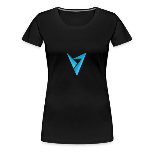 v logo - Women's Premium T-Shirt