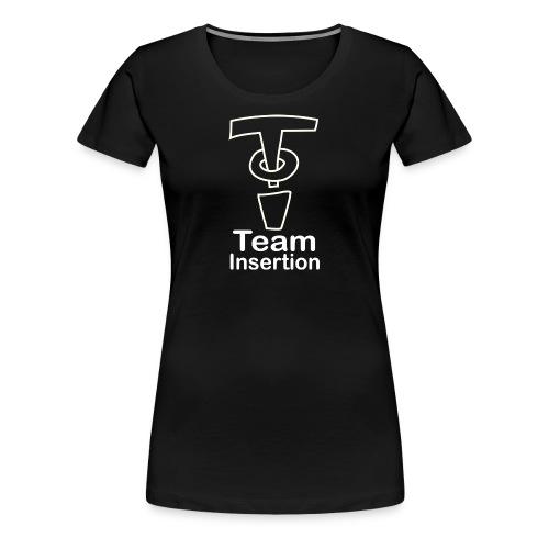 Team Insertion White - Women's Premium T-Shirt