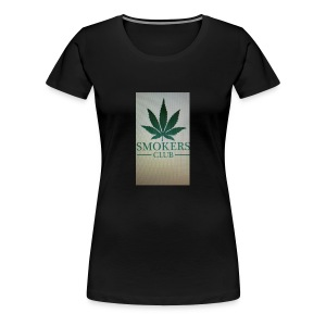 Smokers club - Women's Premium T-Shirt