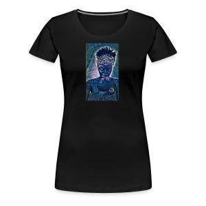 Galaxy Mom and baby - Women's Premium T-Shirt