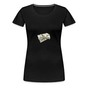 moneystack - Women's Premium T-Shirt