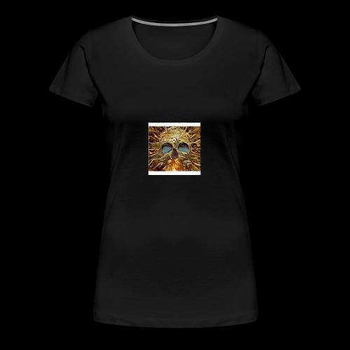 Golden skull - Women's Premium T-Shirt