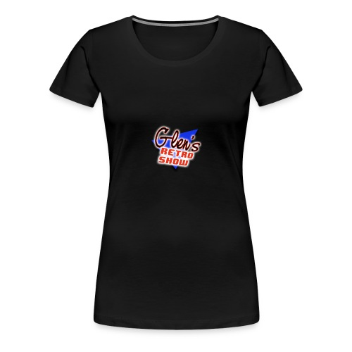 Glen s Retro Show Logo - Women's Premium T-Shirt