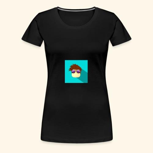 NixVidz Youtube logo - Women's Premium T-Shirt