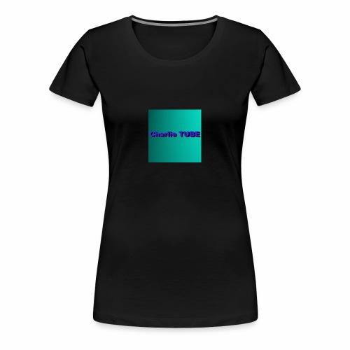 Charlie TUBE pp - Women's Premium T-Shirt