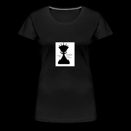 LogoImage2WordsLarge - Women's Premium T-Shirt
