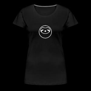 Sloth white - Women's Premium T-Shirt