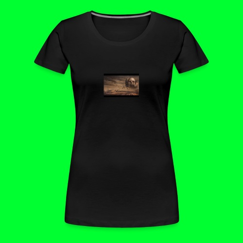 the skull wars - Women's Premium T-Shirt