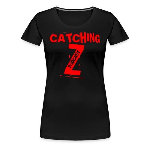 Catching Z Official Logo - Women's Premium T-Shirt