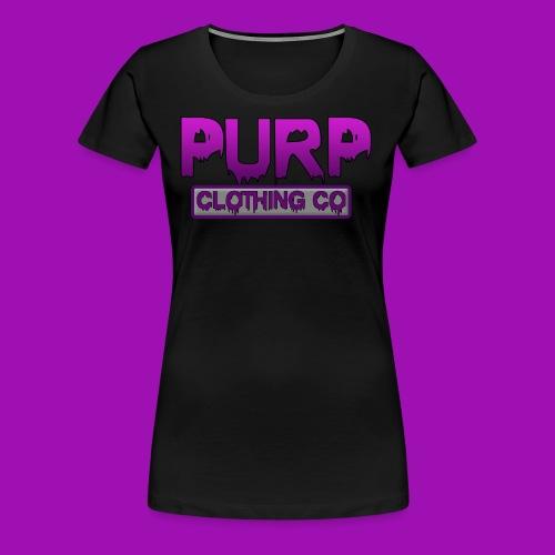 Purp Clothing Logo - Women's Premium T-Shirt