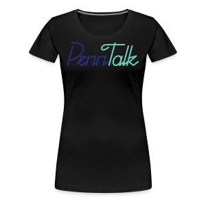PennTalk - Women's Premium T-Shirt