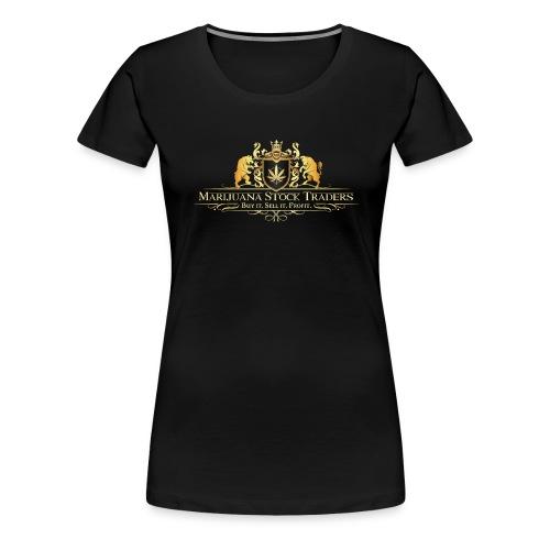 Original MST Marijuana Stock Traders Logo - Women's Premium T-Shirt
