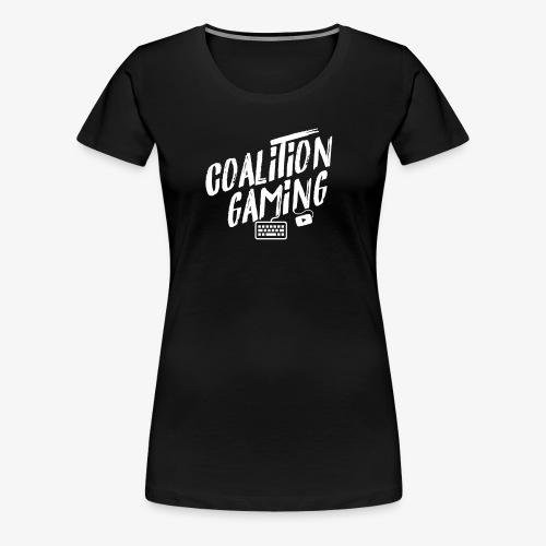 CG PC Gaming WHITE LOGO - Women's Premium T-Shirt