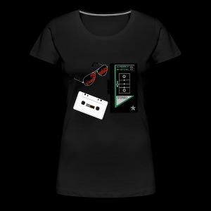 Bit of Retro - Women's Premium T-Shirt