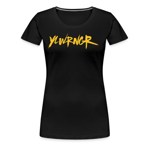 YLWRNGR Logo - Women's Premium T-Shirt