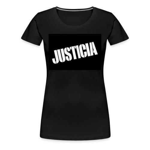 Justicia 2 Black - Women's Premium T-Shirt