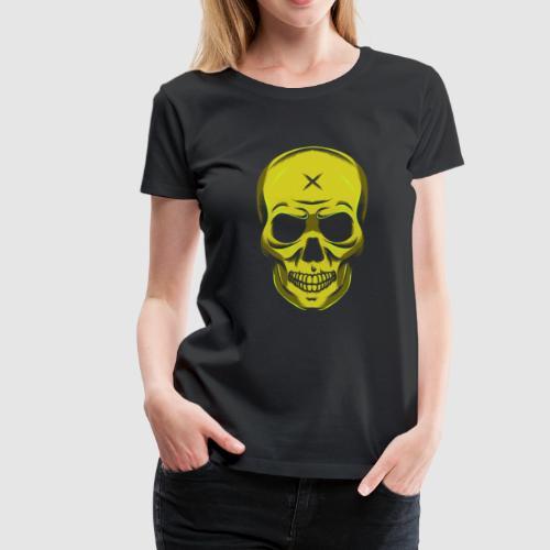 Evil Halloween Skull Skull Cross Gift - Women's Premium T-Shirt