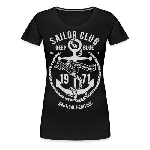 sailor club nautical heritage 2 - Women's Premium T-Shirt