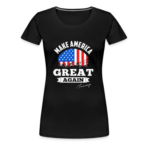 MAGA - Trump - Women's Premium T-Shirt