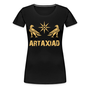 Artaxiad Coat of Arms - Gold - Women's Premium T-Shirt