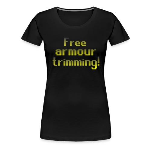 on top free armour - Women's Premium T-Shirt