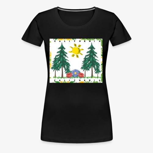 California Living - Women's Premium T-Shirt