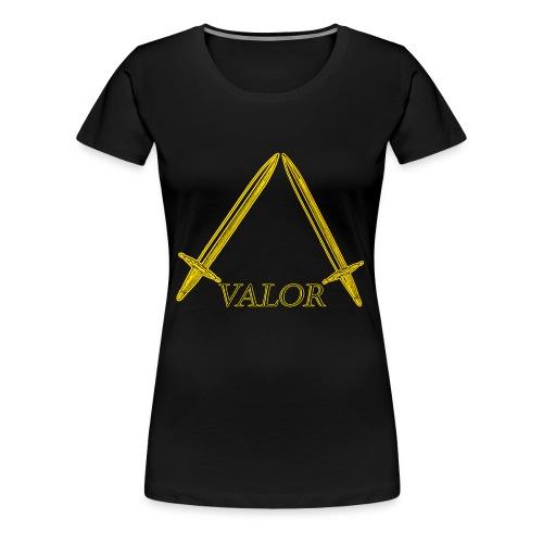 Valor Golden Graphic - Women's Premium T-Shirt