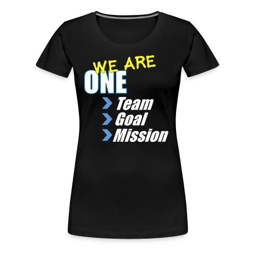 Team building: We are one - Women's Premium T-Shirt