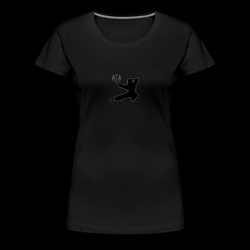 Lawyer Fu Logo - Simple - Women's Premium T-Shirt