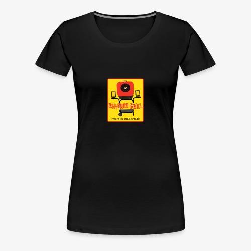 Rhythm Grill patch logo - Women's Premium T-Shirt