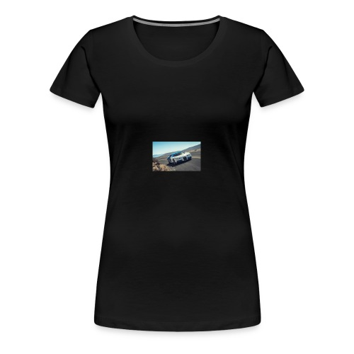 2017 bugatti chiron first ride review car and driv - Women's Premium T-Shirt