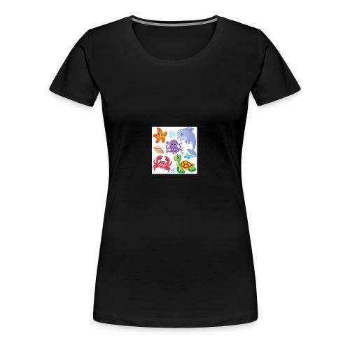 animales animados - Women's Premium T-Shirt