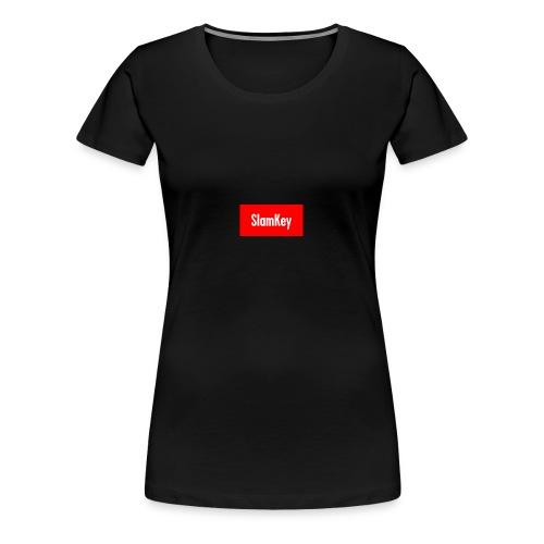 Slamkey (Supreme Parody) - Women's Premium T-Shirt