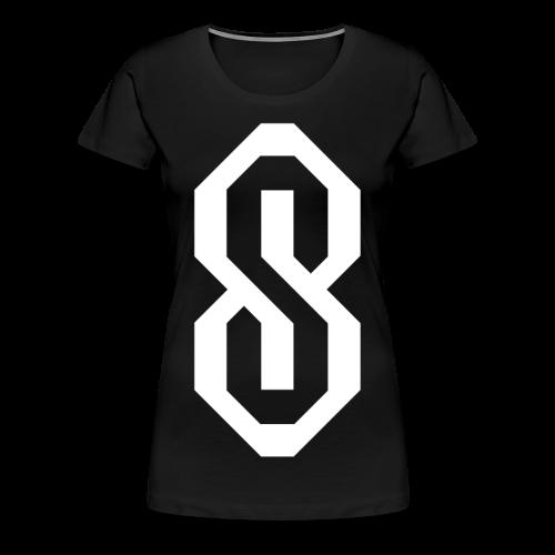White S Logo - Women's Premium T-Shirt