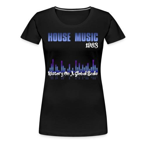 House music 1983 - Women's Premium T-Shirt