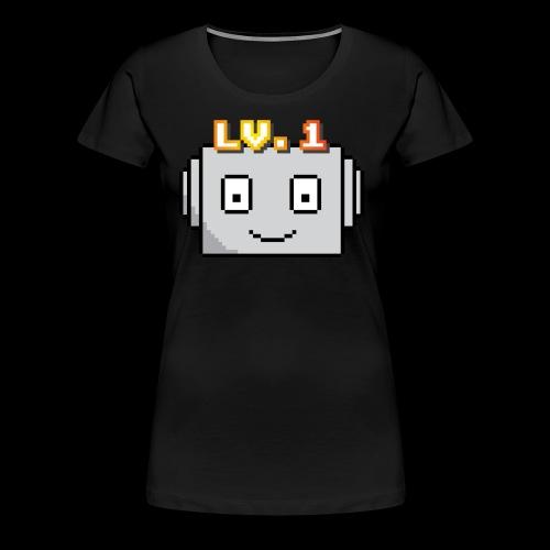 Beginner Bots Mascot - Women's Premium T-Shirt