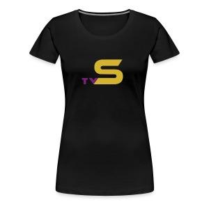 SandsTV logo - Women's Premium T-Shirt