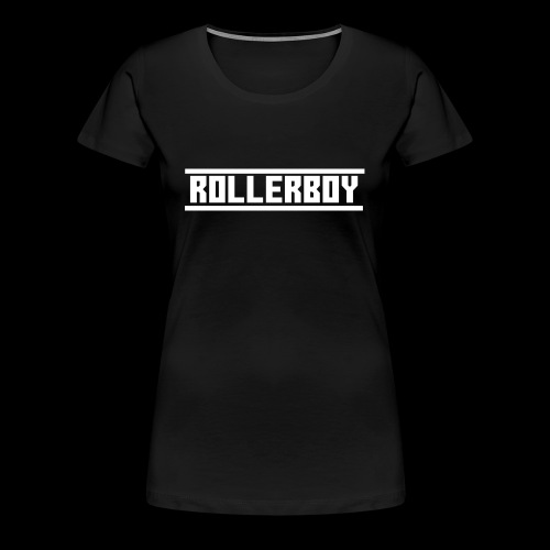 Exclusive ROLLERBOY NAME LABLE - Women's Premium T-Shirt