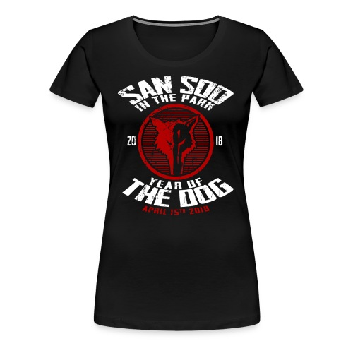 San Soo in the Park 2018 - Women's Premium T-Shirt