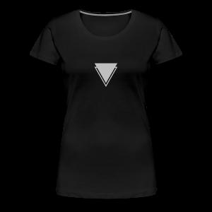 Body & Spirit (Down) (Tri) - Women's Premium T-Shirt