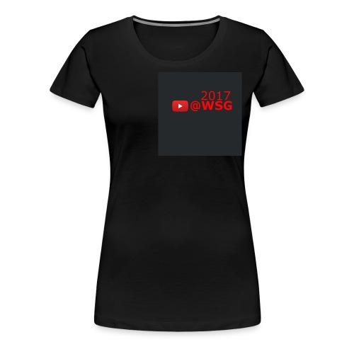 WSG 2017 - Women's Premium T-Shirt