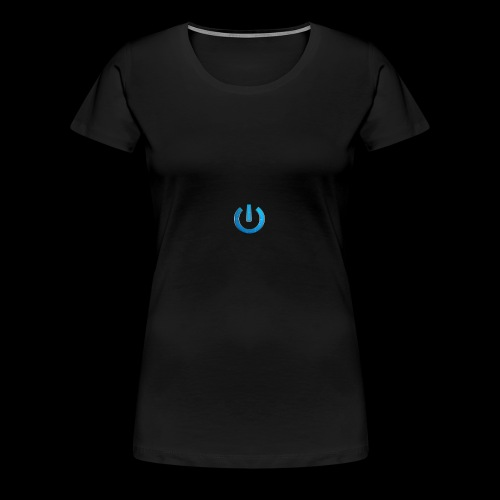 GAMingWITHty/ Never Turning Off - Women's Premium T-Shirt