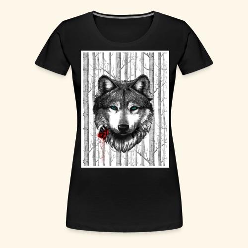 Rose Wolf - Women's Premium T-Shirt