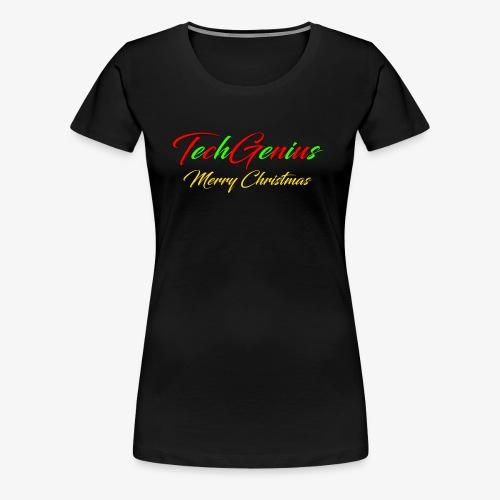 TechGenius - Christmas - Women's Premium T-Shirt