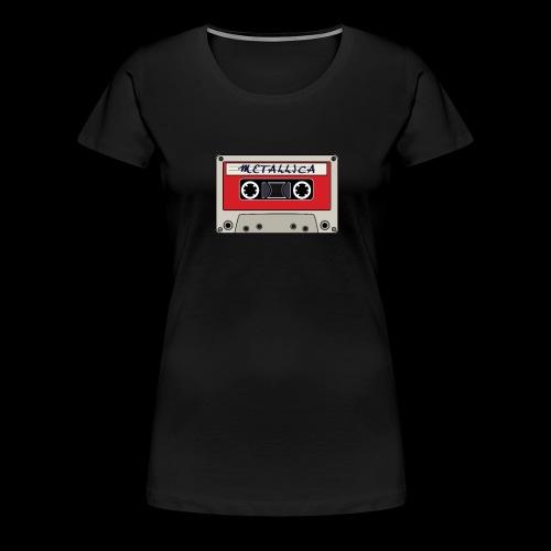VINTAGE CASSETTE TAPE - Women's Premium T-Shirt