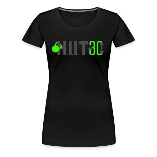 HIIT30_White - Women's Premium T-Shirt