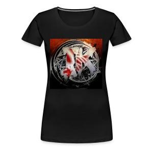 Insane Killa Logo Design - Women's Premium T-Shirt