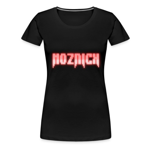 TEXT MOZNICK - Women's Premium T-Shirt