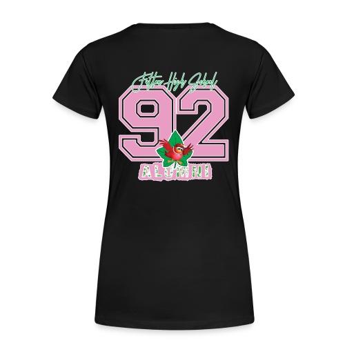 AKA '92 Shirt_BLACK - Women's Premium T-Shirt