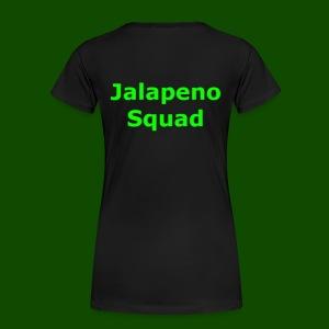 Jalapeno Squad Shirts And Hoodies - Women's Premium T-Shirt